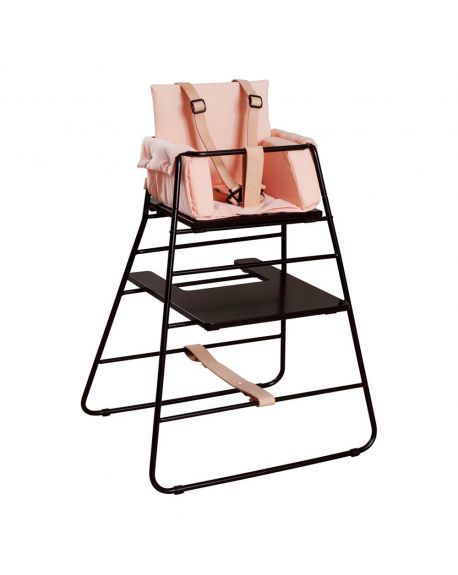 BUDTZBENDIX – Buckle up Harness for High Chair Towerchair - Natural Leather & Black