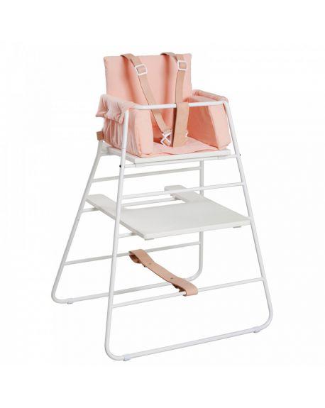 BUDTZBENDIX - Harnais de sécurité pour chaise haute Towerchair - Cuire Naturel et blanc