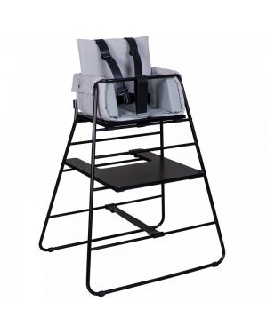 BUDTZBENDIX – Buckle up Harness for High Chair Towerchair - Black leather