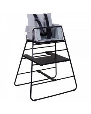 BUDTZBENDIX -Coussin réducteur Towerblock pour chaise haute - Gris clair