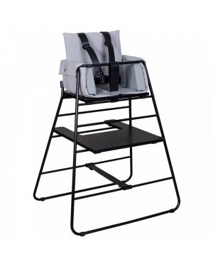 BUDTZBENDIX – Towerblock Highchair Cushion - Light grey