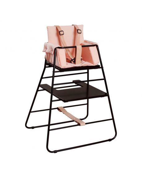 BUDTZBENDIX -Coussin réducteur Towerblock pour chaise haute - Rose pêche