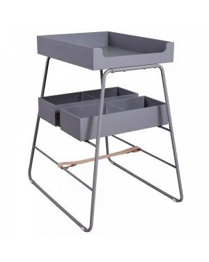 BUDTZBENDIX - Changing Table - Grey
