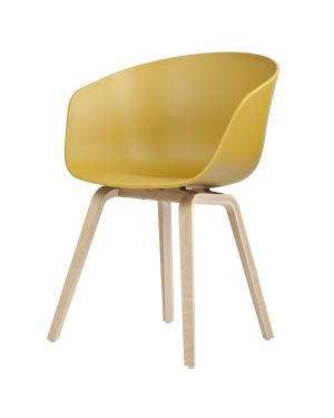 HAY- AAC22 ABOUT A CHAIR - Design chair - Mustard