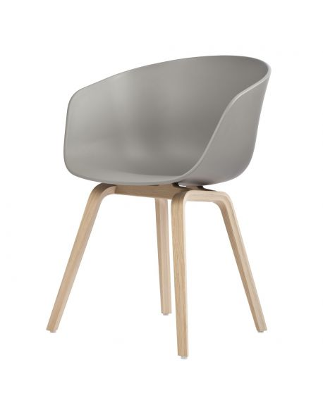 HAY - AAC22 ABOUT A CHAIR - Chaise design - Gris