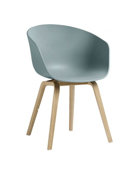 HAY- AAC22 ABOUT A CHAIR - Design chair - Dusty Blue