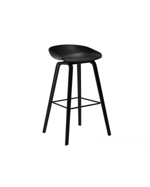 HAY - ABOUT A STOOL - AAC32 - Design chair - Noir (H75cm)