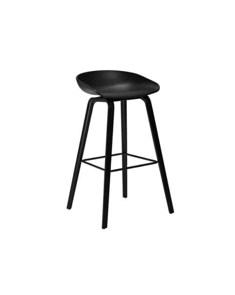 HAY- ABOUT A STOOL - AAS32 - Chaise design - Noir (H 75cm)