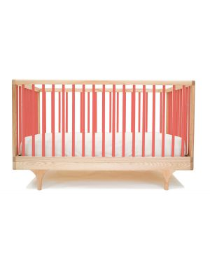 KALON STUDIOS - CARAVAN couleur, lit bébé évolutif design - Corail