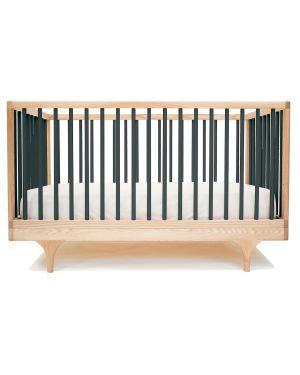 KALON STUDIOS - CARAVAN couleur, lit bébé évolutif design - Noir
