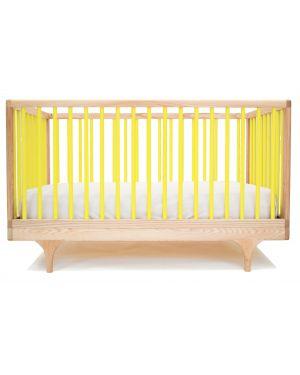 KALON STUDIOS - CARAVAN color, design convertible cot - Yellow