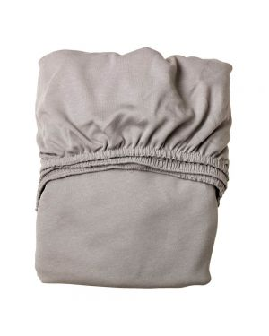 LEANDER - Set of 2 Fitted Sheets - 60 x 120 cm - Grey