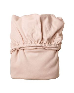 LEANDER - Set of 2 Fitted Sheets - 60 x 120 cm - Pink