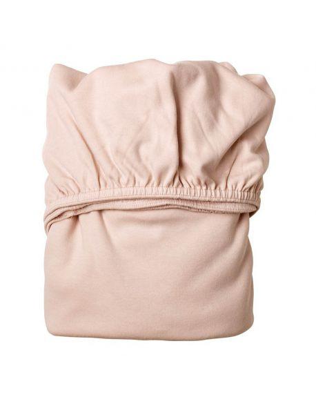 LEANDER- Lot de 2 draps housse - 60 x 120 cm - Rose