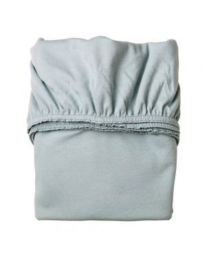 LEANDER - Set of 2 Fitted Sheets - 60 x 120 cm - Blue