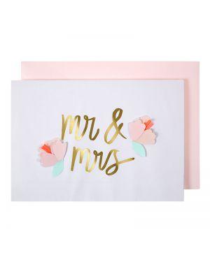Meri Meri - Carte M et Mme
