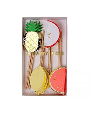 Meri Meri - Fruit party picks x 24
