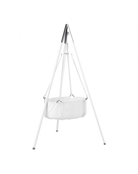 LEANDER - SUSPENDED CRADLE - With tripod - White