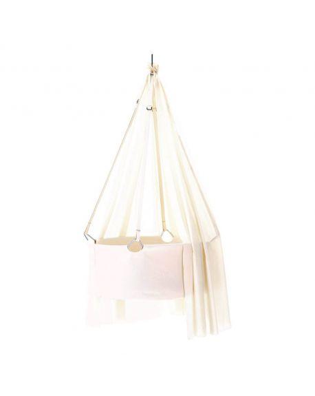 LEANDER-BERCEAU SUSPENDU fixation plafond - Blanc