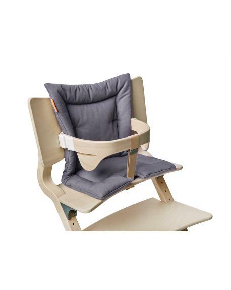 LEANDER-Coussin pour chaise haute - Gris anthracite
