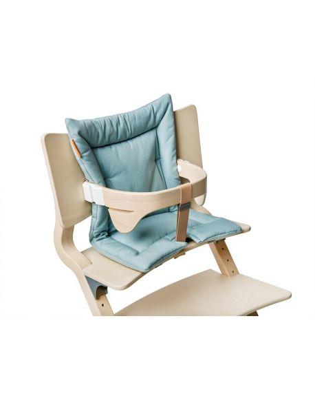 LEANDER - Cushion for High Chair - Soft blue