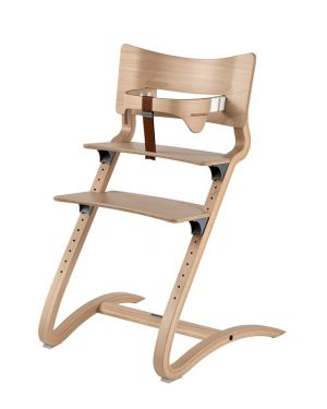 LEANDER - HIGH CHAIR design - Natural