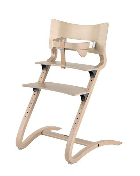 LEANDER - HIGH CHAIR design - From 6 months to adult age - White wash