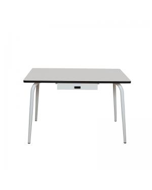 LES GAMBETTES ROMY - elementary desk - Light grey