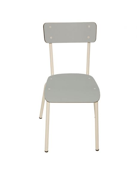 LES GAMBETTES SUZIE - Adult chair - Light grey