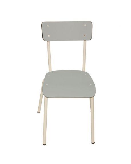 LES GAMBETTES SUZIE - Chaise adulte - Gris perle