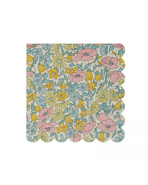 Meri Meri - 20 petites serviettes en papier Poppy & Daisy