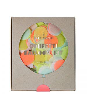 Meri Meri - Kit 8 Ballons Confetti - Neon