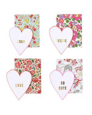 Meri Meri - Liberty Print Love Notes