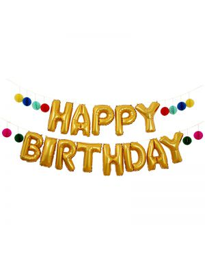 Meri Meri - Happy Birthday Balloon Garland Kit