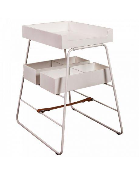 BUDTZBENDIX - Table à langer – Blanc