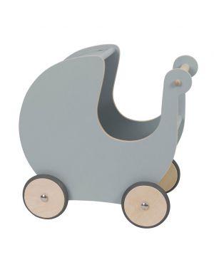 SEBRA - Poussette pour poupée - gris