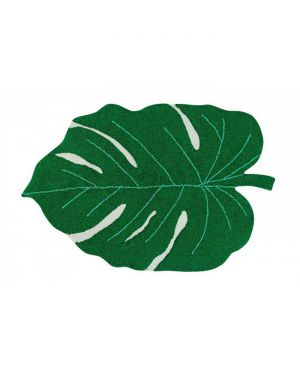 LORENA CANALS - Coton rug Monstera Leaf - 120 x 180 cm