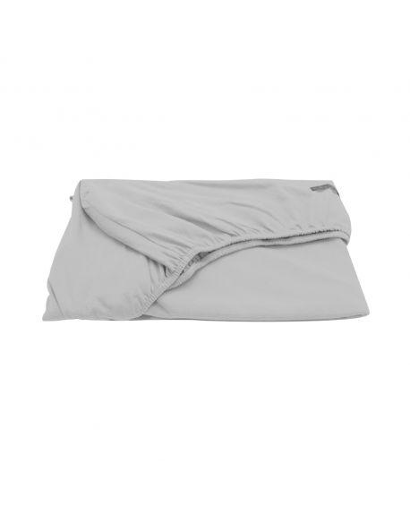 JACK N'A QU'UN OEIL - Fitted Sheed Zirkuss - 70 x 140 cm - Light grey