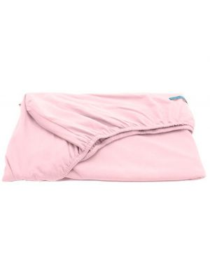 JACK N'A QU'UN OEIL - Fitted Sheet ZIRKUSS - 70 x 140 cm - Powder pink