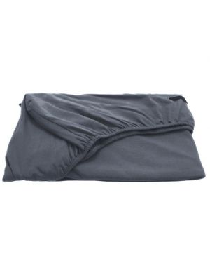 JACK N'A QU'UN OEIL - Fitted sheet ZIRKUSS - 70 x 140 cm - Dark grey