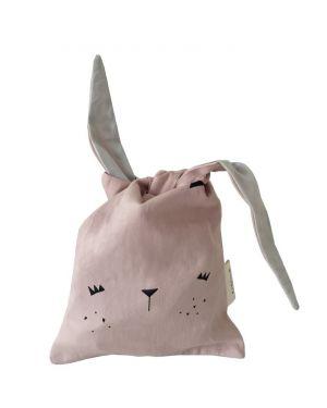 Fabelab - Lunch bag Bunny - mauve