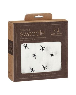 ADEN & ANAIS - Silky Soft Swaddles - Midnight