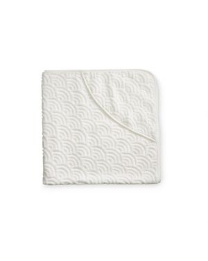 CAM CAM COPENHAGEN - Baby Towel Hooded - Off-White - 80*80