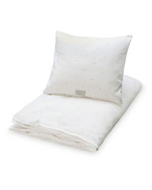 CAM CAM COPENHAGEN - Bedding - Dots cream - 140 x 200 cm