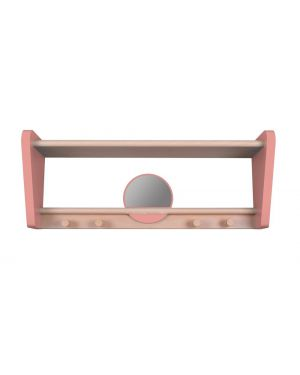 Jungle by jungle - Wall Shelf for kids -My little boudoir - Pink