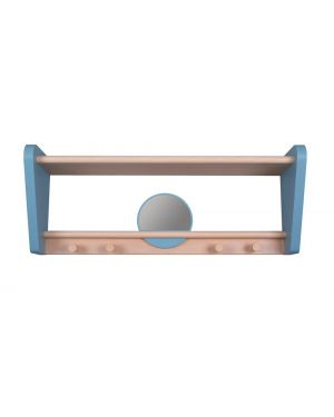 Jungle by jungle - Wall Shelf for kids - My little boudoir - Blue