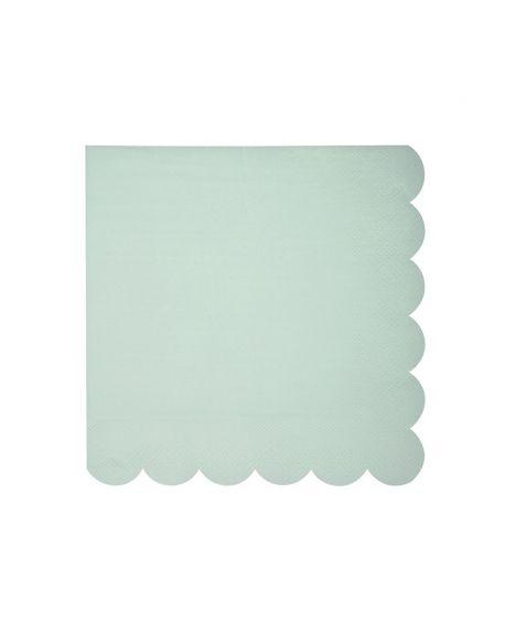 Meri meri - Serviettes de table - Pastel