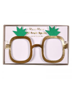 Meri meri - Lunettes Fruits - Lot de 10