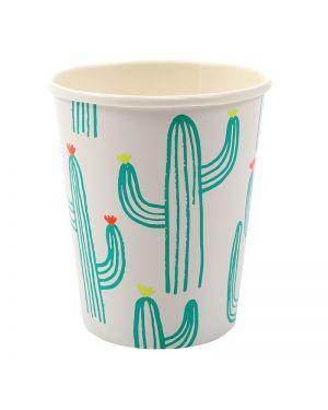 Meri meri - Set de 12 gobelets cactus
