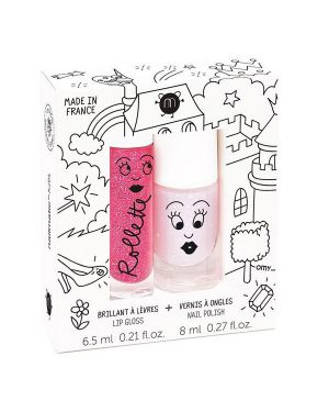 Nailmatic - Coffret duo rollette + vernis - Fairytales